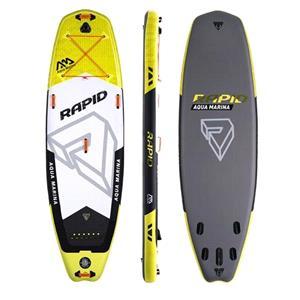 """All SUP Boards, Aqua Marina Rapid (2018) 9'6"""" Wave Surf SUP Paddle Board, Aqua Marina"""