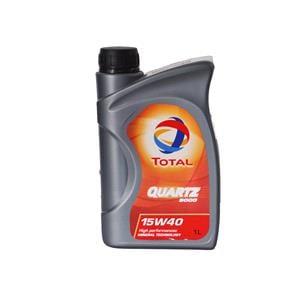Engine Oils and Lubricants, TOTAL Quartz 5000 15W-40 Multigrade Engine Oil - 1 Litre, Total