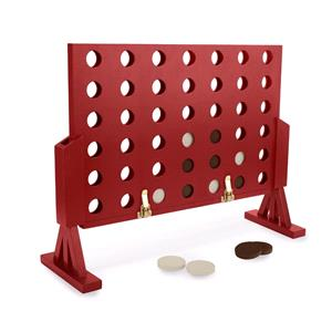 Games and Activities, Toyrific Garden Games Large 4 In A Row, Toyrific