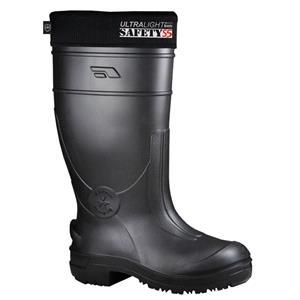 Footwear, Leon Boots Co. Black Non Slip/ Steel Toe - Pair - Size: 8, LEO