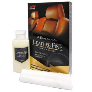 Soft99, Soft99 Leather Fine - Non Slip Cleaner & Conditioner - 100ml, Soft99