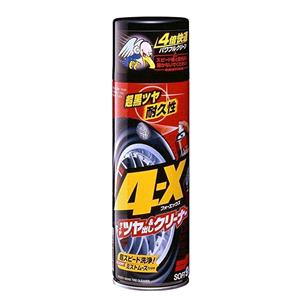 Soft99, Soft99 4-X Tire Cleaning Mousse & Tire Dressing - 470ml, Soft99