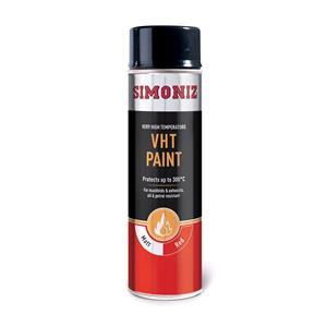 Specialist Paints, Simoniz Very High Temperature Paint - Red - 500ml, Simoniz