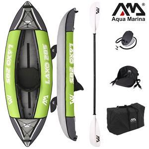 "All Kayaks, Aqua Marina (2021) Laxo 9'4"" All Around Kayak (1-Person) - 1 Paddle Included, Aqua Marina"