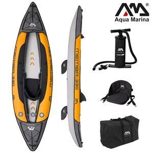 "All Kayaks, Aqua Marina (2021) Memba-330 10'10"" Kayak (1-Person) - DWF Deck - Kayak Paddle Included, Aqua Marina"