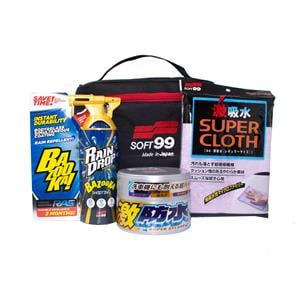 Car Care Kits, Soft99 Complete Water Block Gift Kit, Soft99
