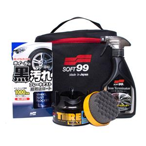 Car Care Kits, Soft99 Slick Wheels Gift Kit, Soft99