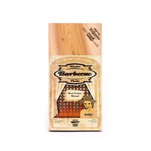 BBQ Accessories, Axtschlag Barbecue Wood Planks - Western Red Cedar Wood (Pack of 3), Axtschlag